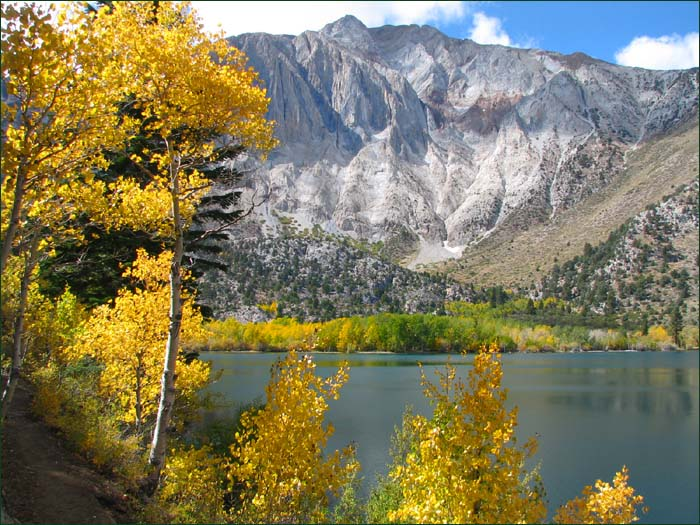 Convict Lake Campground California Convict Lake California