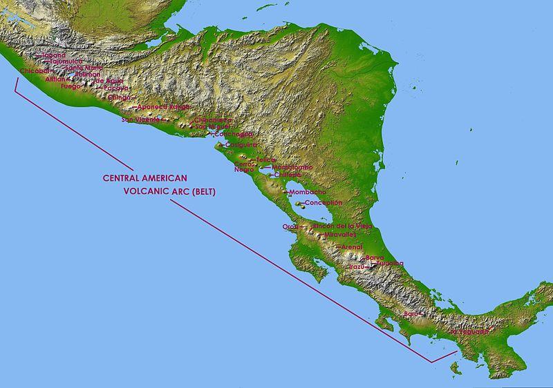 South CAVA South Nicaragua Volcanoes
