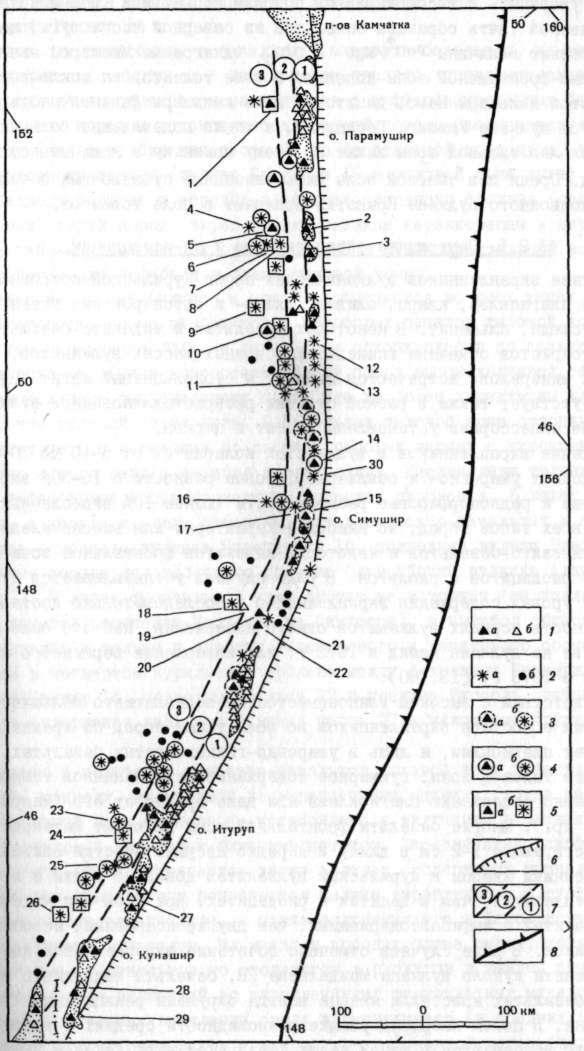 Схема расположения наземных и