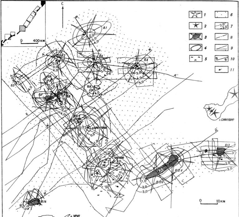 Схема строения Броутонской