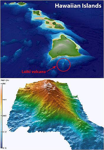 Havaiian maps (MBARI)
