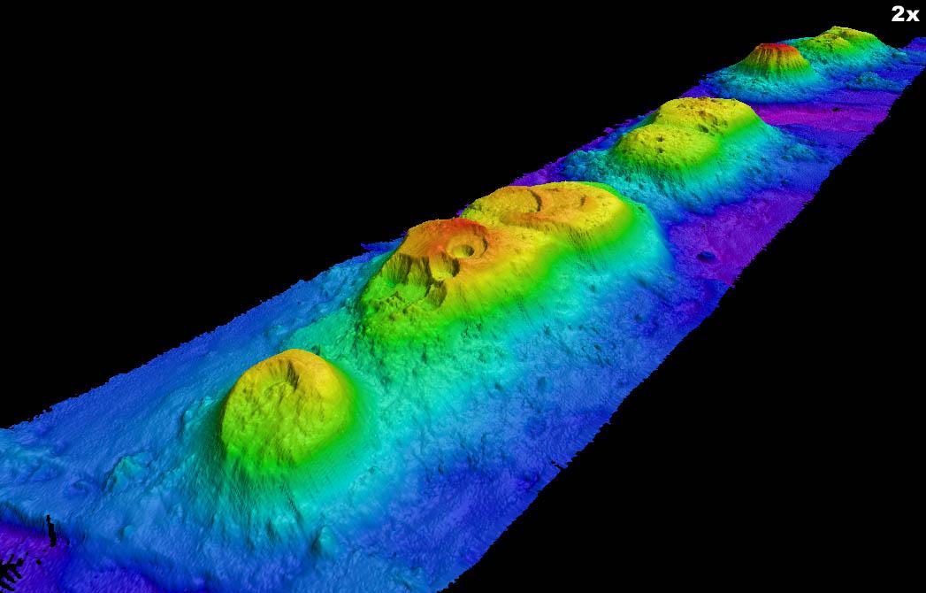 President Jackson Seamounts