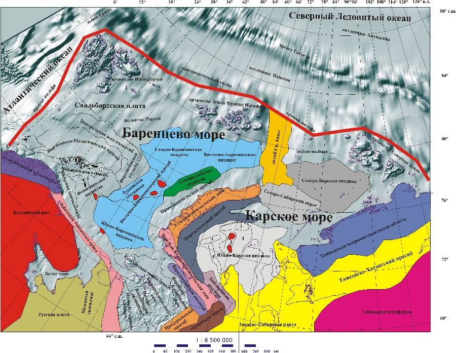 Обоненково месторождение карское море