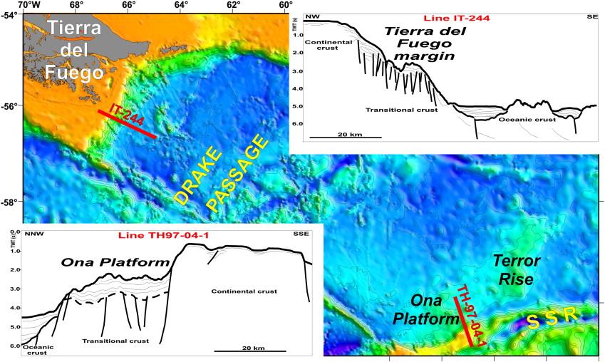 Seismic profile...